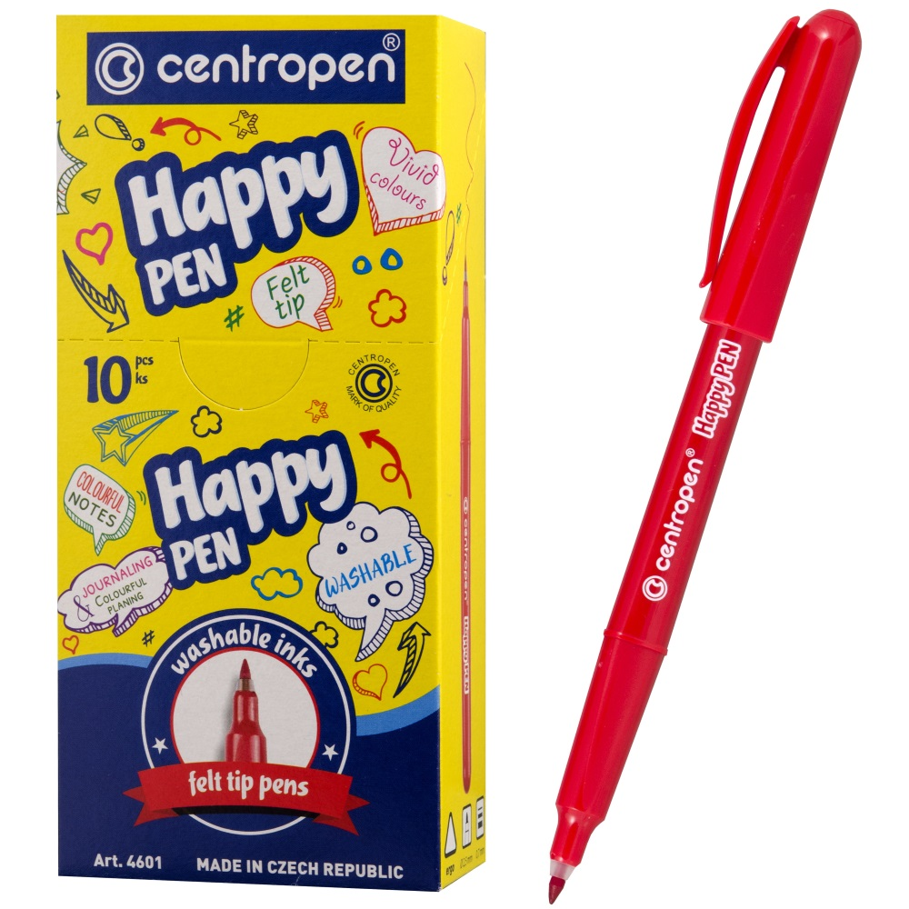 Линер Centropen Happy Pen, арт. 4601/1 4601/1 кр.