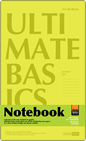 Блокнот Ultimate basics, Cambridge, А5, 40 листов,  4 цвета