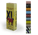 Бумага цветная CRAFT VERJURADO XL, 1х2 м, 50 рулонов, 50 г, 10 дизайнов по 5 рулонов